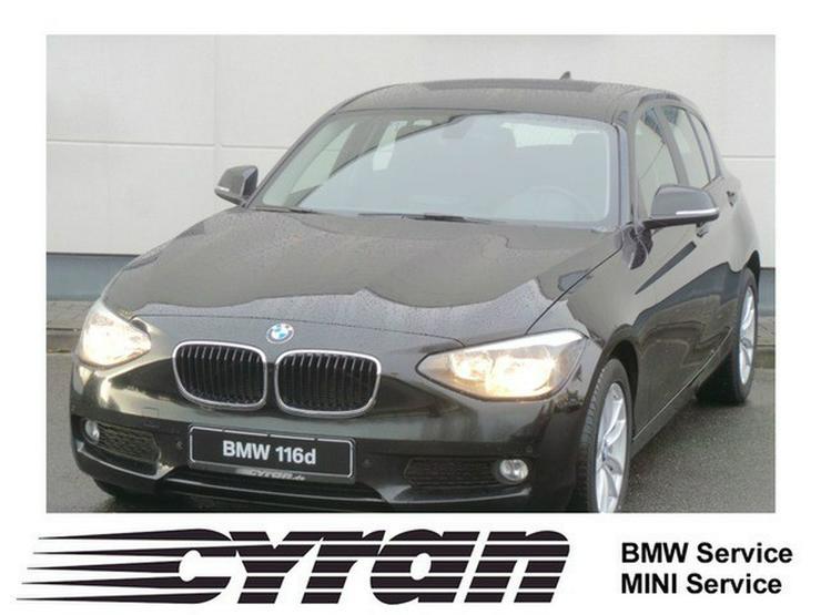BMW 116dA 5-Türer Navi Freisprech. Sitzh. Klimaauto