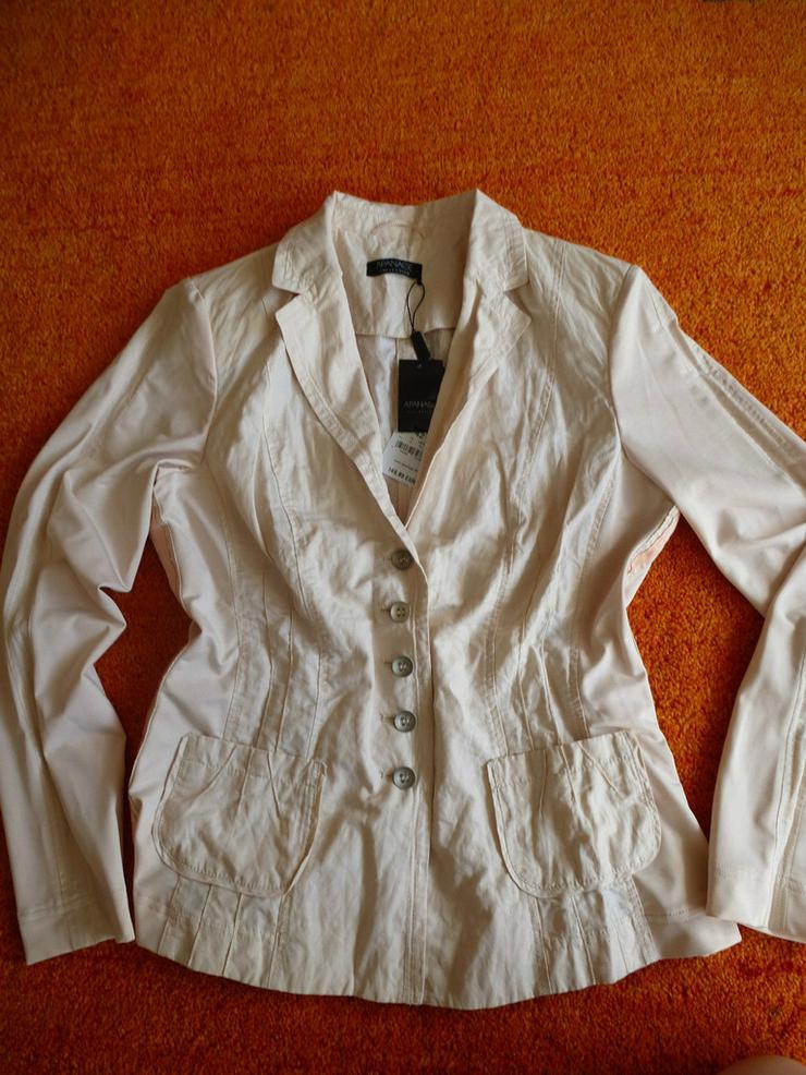 Neu Damen Blazer Gr. 42 Apanage P. 149,95 #0xA4