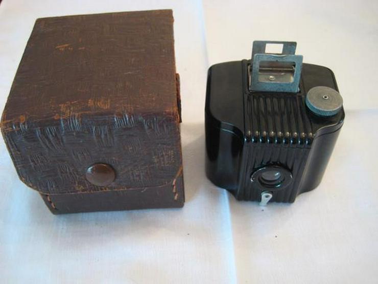 Kodak Baby Brownie mit Originalledertasche