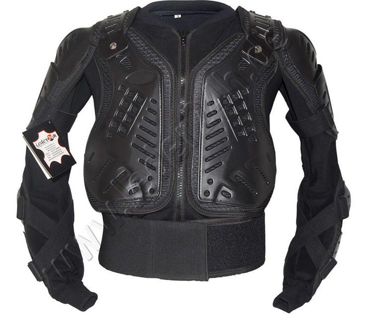Protektorenjacke Motorrad Schutzjacke S bis 5XL - Protektoren & Nierengurte - Bild 1