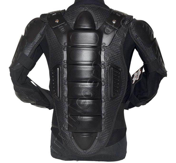 Bild 3: Protektorenjacke Motorrad Schutzjacke S bis 5XL