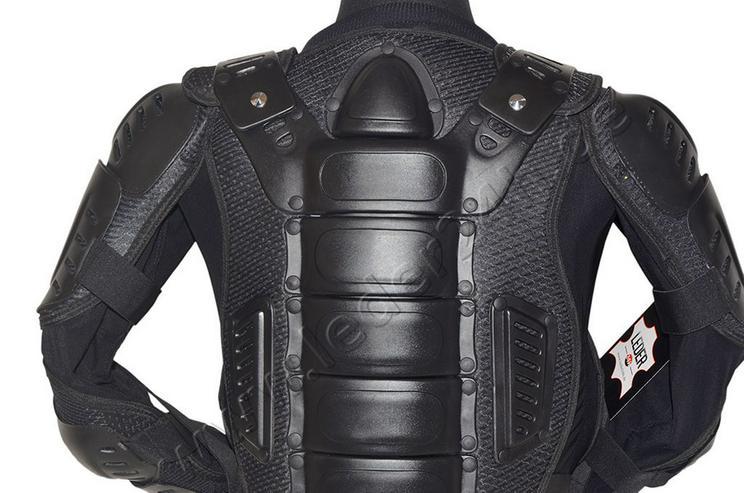 Bild 4: Protektorenjacke Motorrad Schutzjacke S bis 5XL
