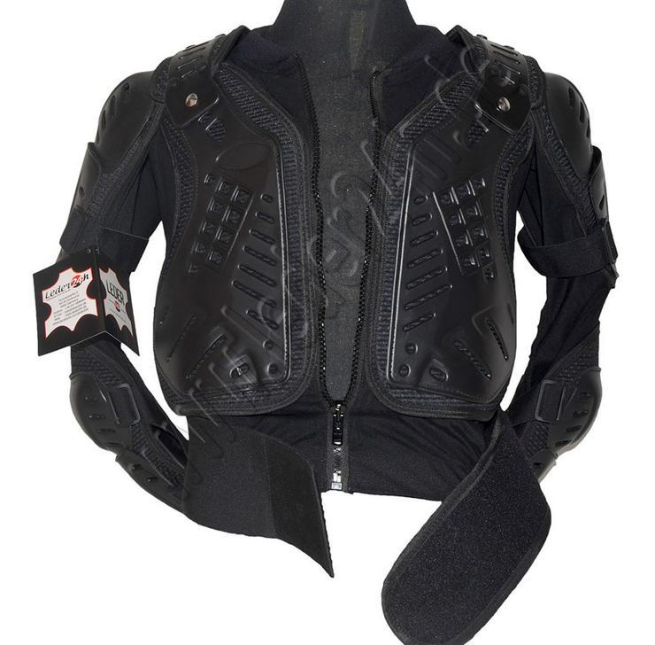 Bild 5: Protektorenjacke Motorrad Schutzjacke S bis 5XL