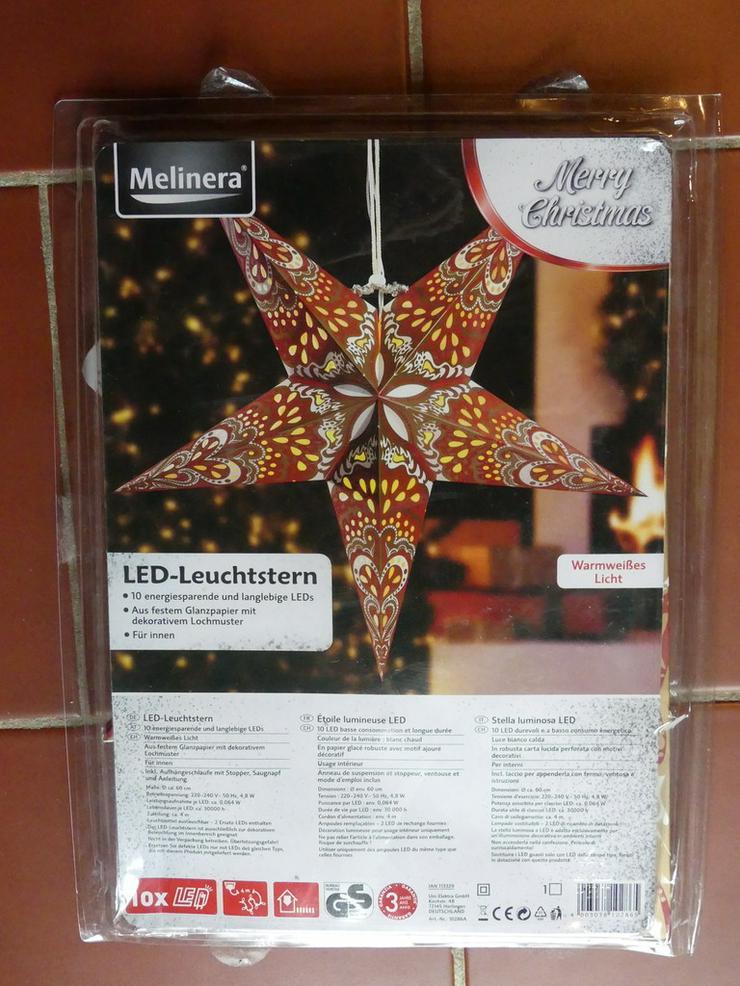LED-Leuchtstern (auch zu verschicken)