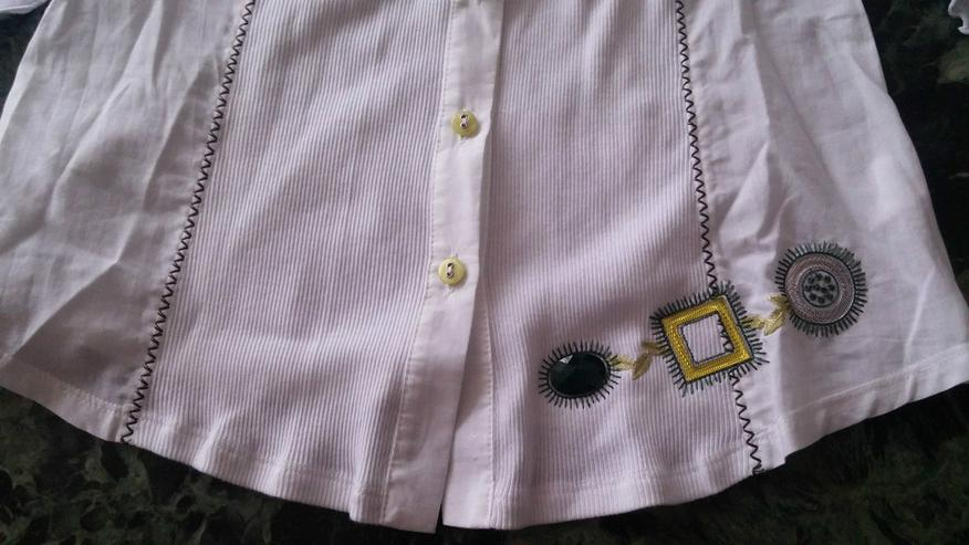 Bild 2: NEU Damen Bluse Gr.38 in Weiß v.LISA CAMPIONE