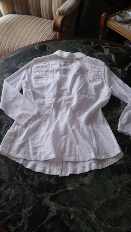 Bild 5: NEU Damen Bluse Gr.38 in Weiß v.LISA CAMPIONE