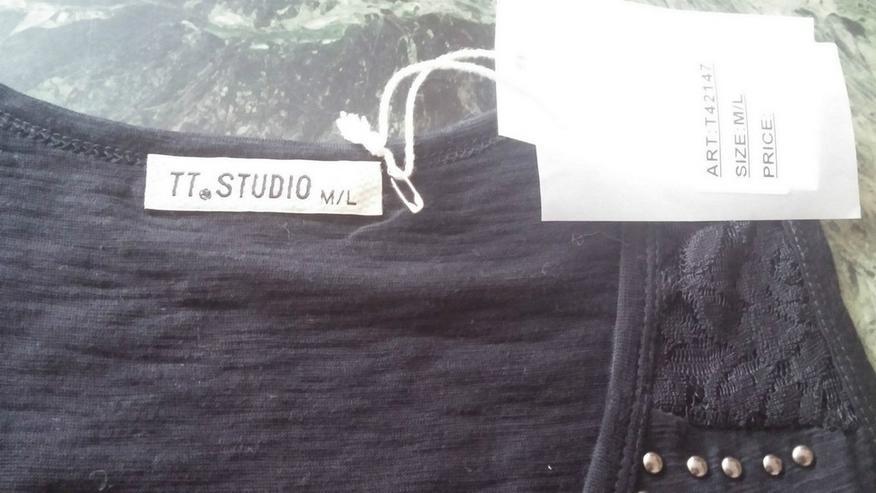 Bild 2: NEU DamenShirt Bluse Gr. M/L in Schwarz