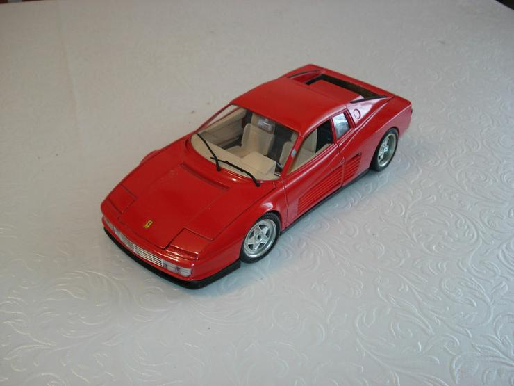 Bild 6: 5 Modellautos 1:18 Ferrari Bastler Konvolut