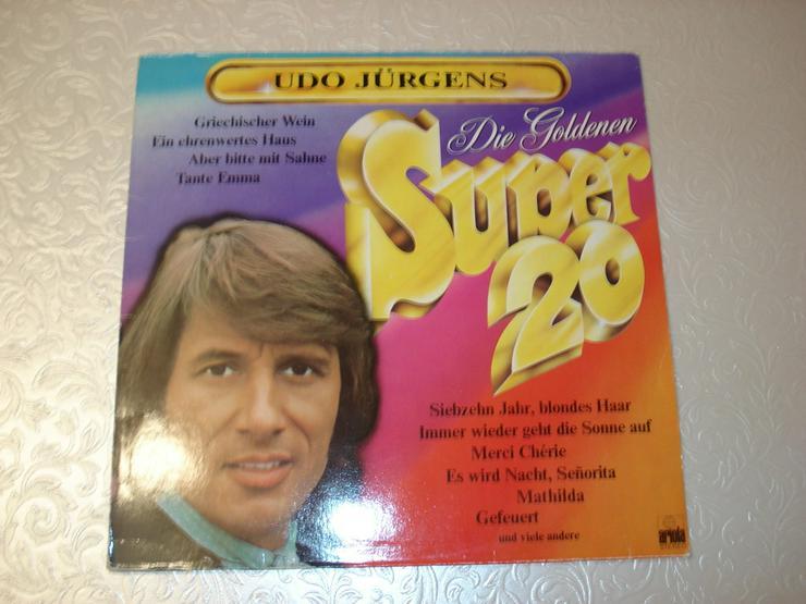 Bild 4: 10 alte Schager Vinyl Langspielplatten