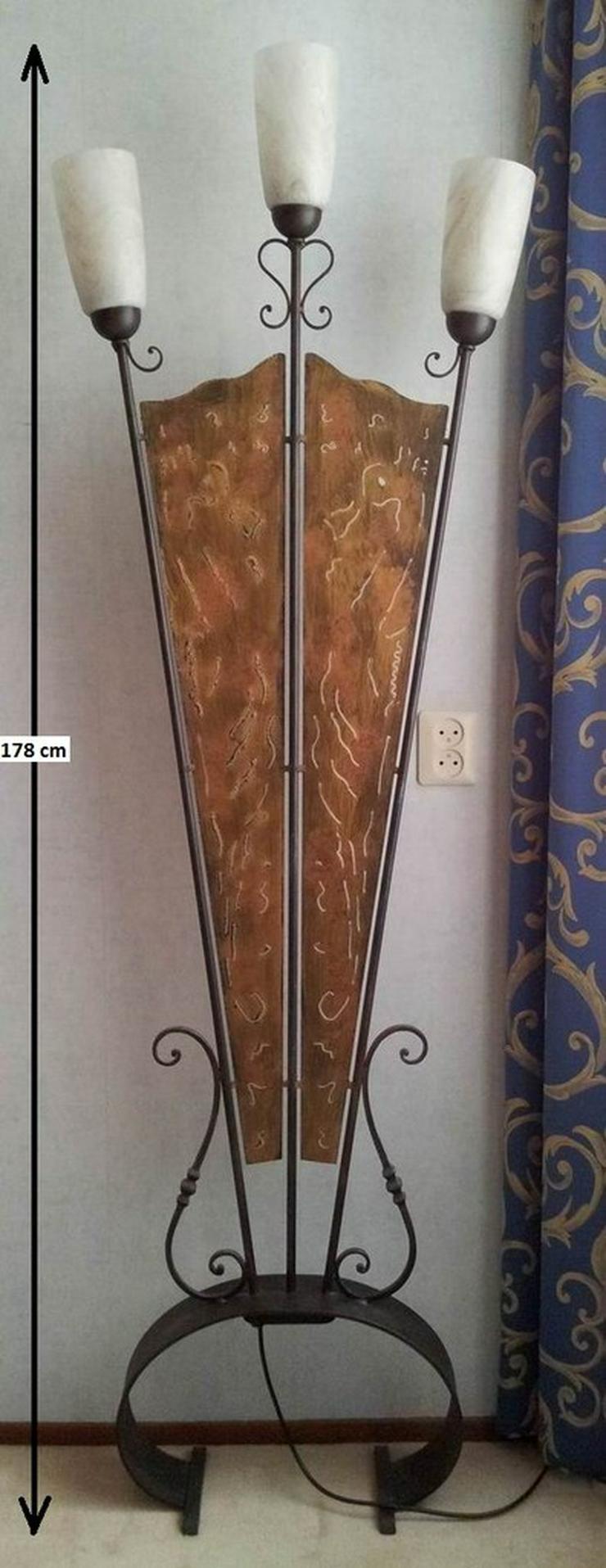 Stehlampe (Schmiedeeisen) - Stehlampen - Bild 1