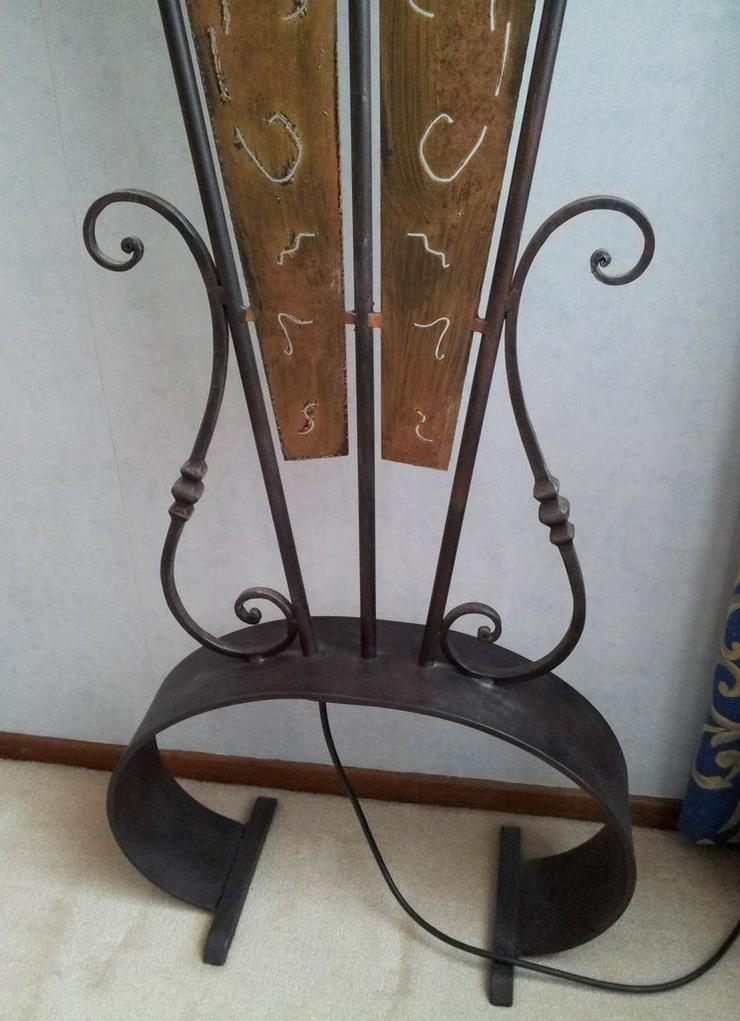 Bild 6: Stehlampe (Schmiedeeisen)