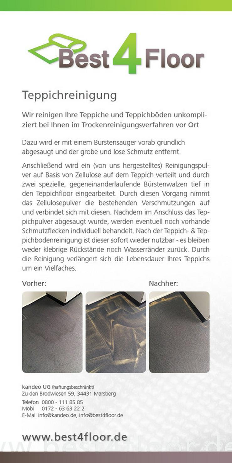 Bild 5: Teppichbodenreinigung in 57368 Lennestadt