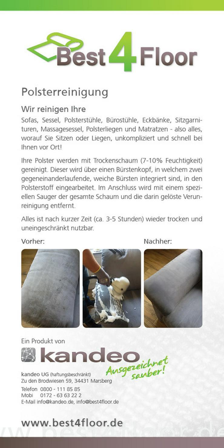 Polsterreinigung in 57392 Schmallenberg - Haushaltshilfe & Reinigung - Bild 1