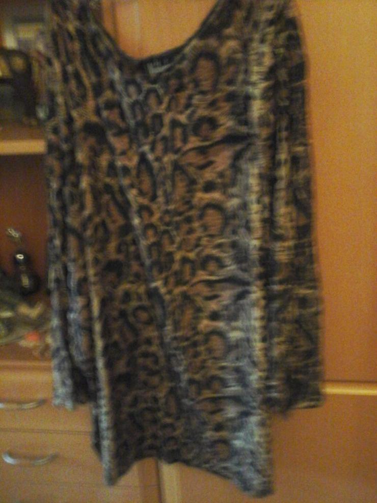 3/4 Arm T-Shirt Leopardenoptik