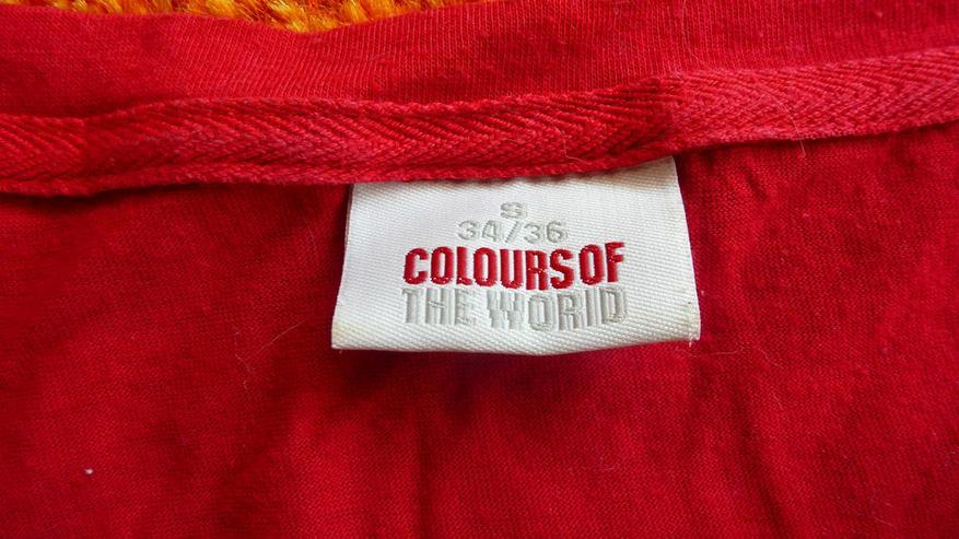 Bild 3: Damen T-Shirt Gr.S 34/36 in rot