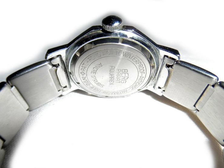 Bild 4: Seltene Armbanduhr von Berg Parat