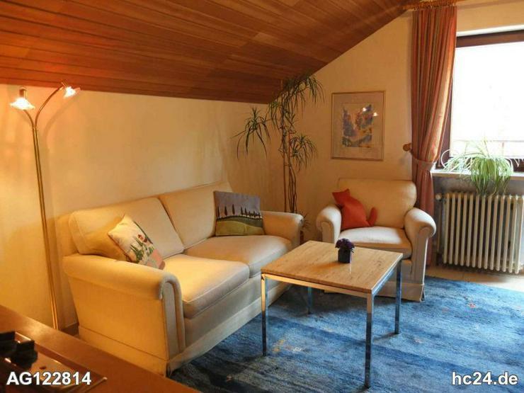Möblierte 2,5 Zimmer Dachgeschosswohnung in Wehr - Wohnen auf Zeit - Bild 1