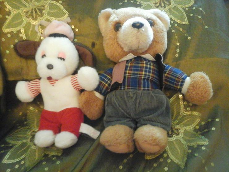 2 Plüschteddys - Teddybären & Kuscheltiere - Bild 1