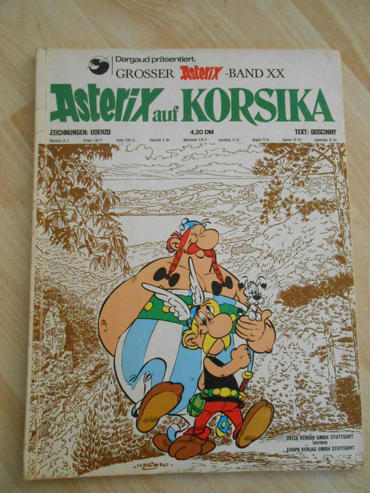 Bild 2: Erstausgabe Asterix Bände