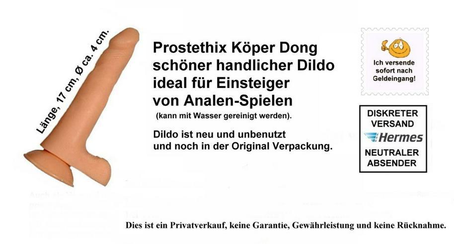 Bild 2: Prosthetix Gummi Dildo für Einsteiger