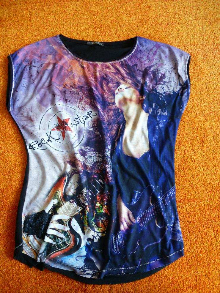 Damen Tunika Shirt Bluse Gr. S - Größen 36-38 / S - Bild 1