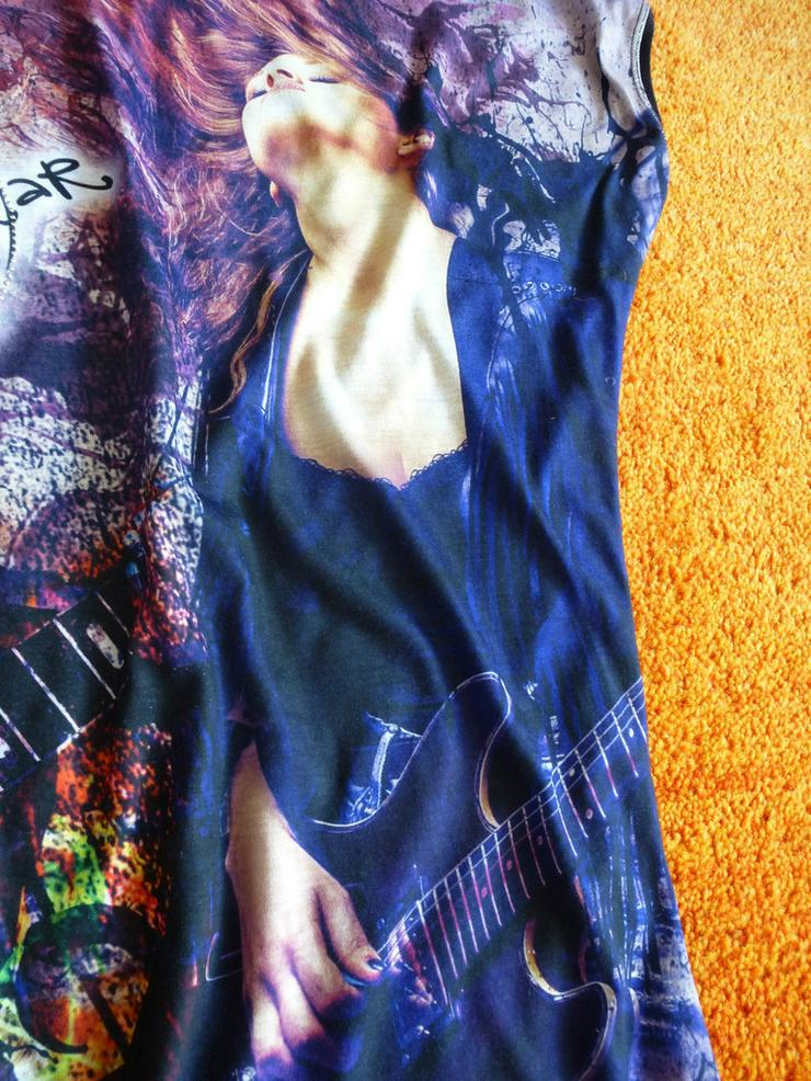 Bild 2: Damen Tunika Shirt Bluse Gr. S