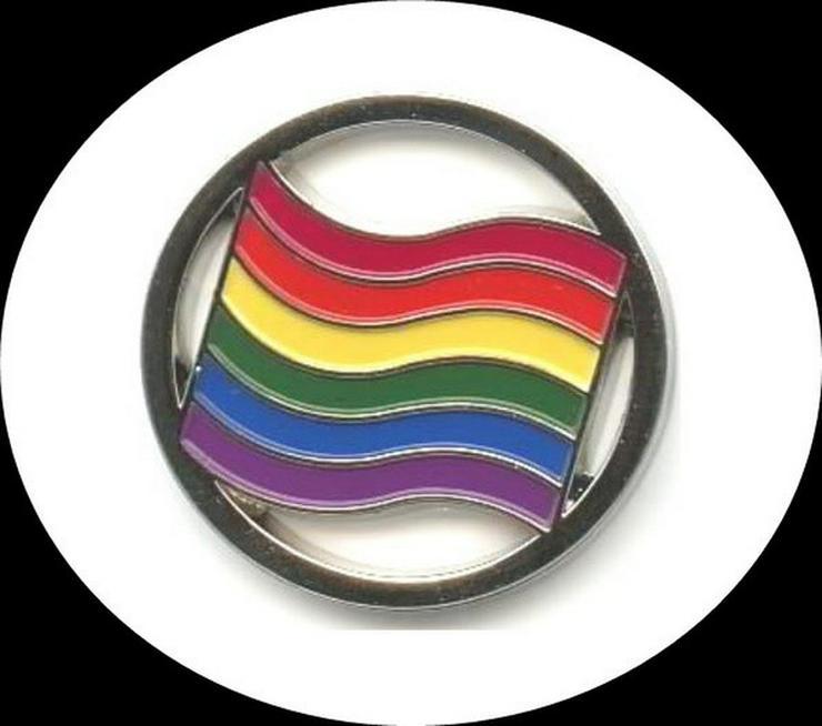 Pride Regenbogen ° EKW-Chips ° 5 Motive