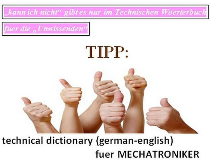 de-englisch Mechatronik-Woerterbuch oder LEO