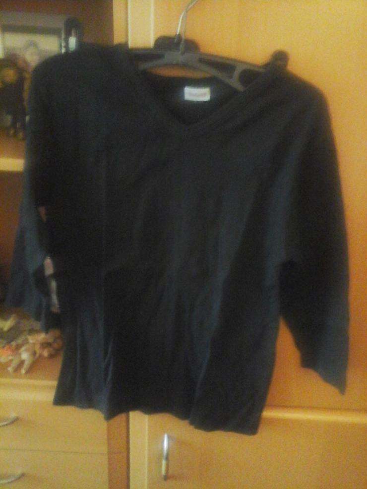 schwarzes Madonna Shirt - Größen 44-46 / L - Bild 1