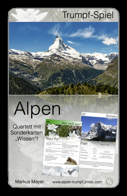 Bild 2: Alpen Trumpf - das neue Quartett