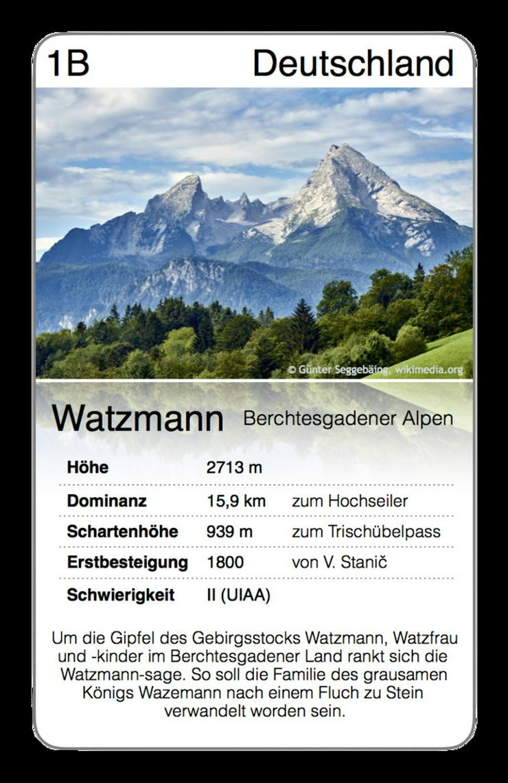 Bild 3: Alpen Trumpf - das neue Quartett