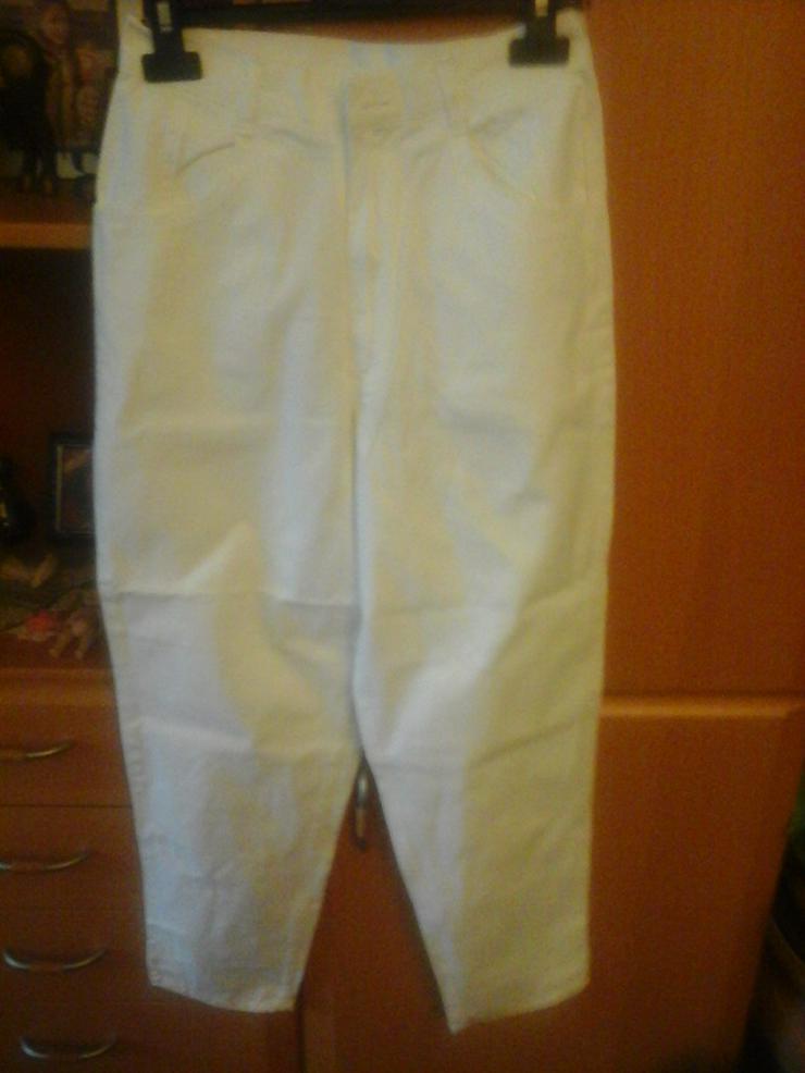 weiße Hose sportswear - Größen 164-176 - Bild 1