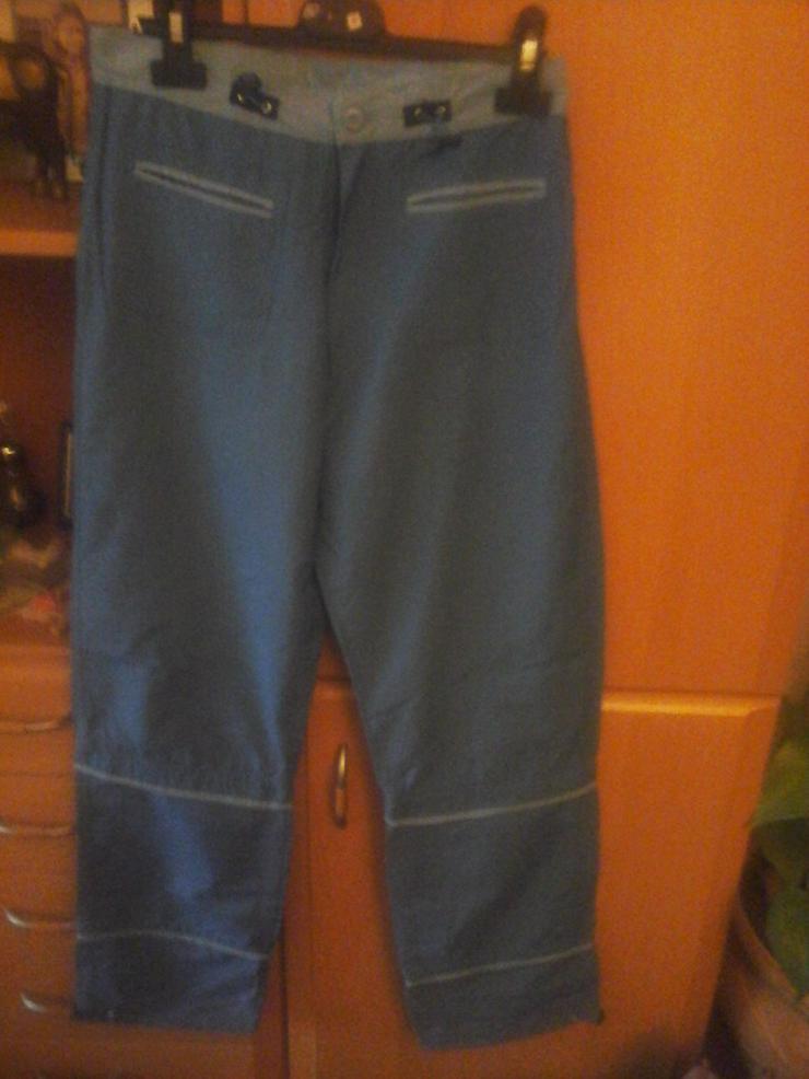 blaue Hose mit abnehmbaren Beinen ab Knie - Größen 164-176 - Bild 1