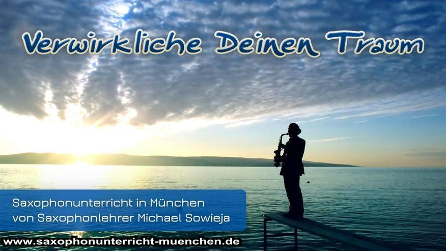 Saxophonunterricht München Saxophonlehrer