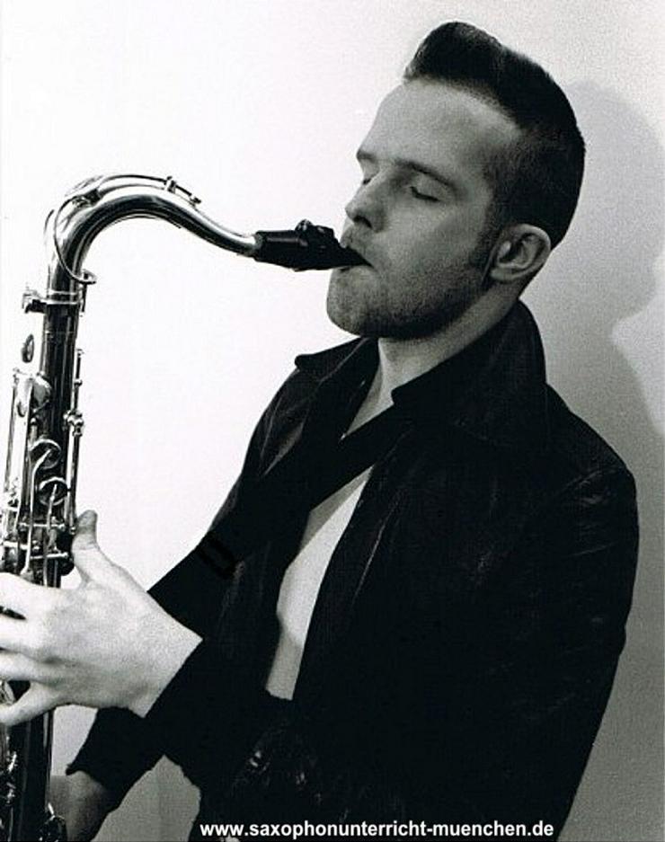 Bild 4: Saxophonunterricht München Saxophonlehrer