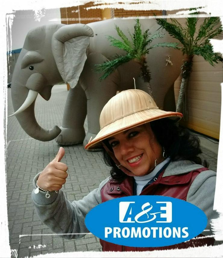 Bild 3: dschungel items mieten riesen elefant deko