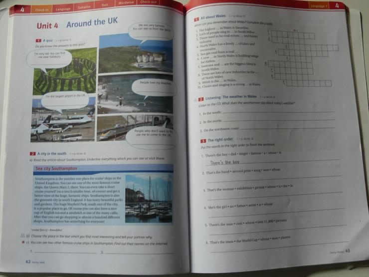 Bild 3: Red Line 3 Workbook, Audio-CD + Lernsoftware