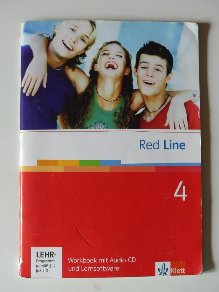 Red Line 4 Workbook, Audio-CD +Lernsoftware