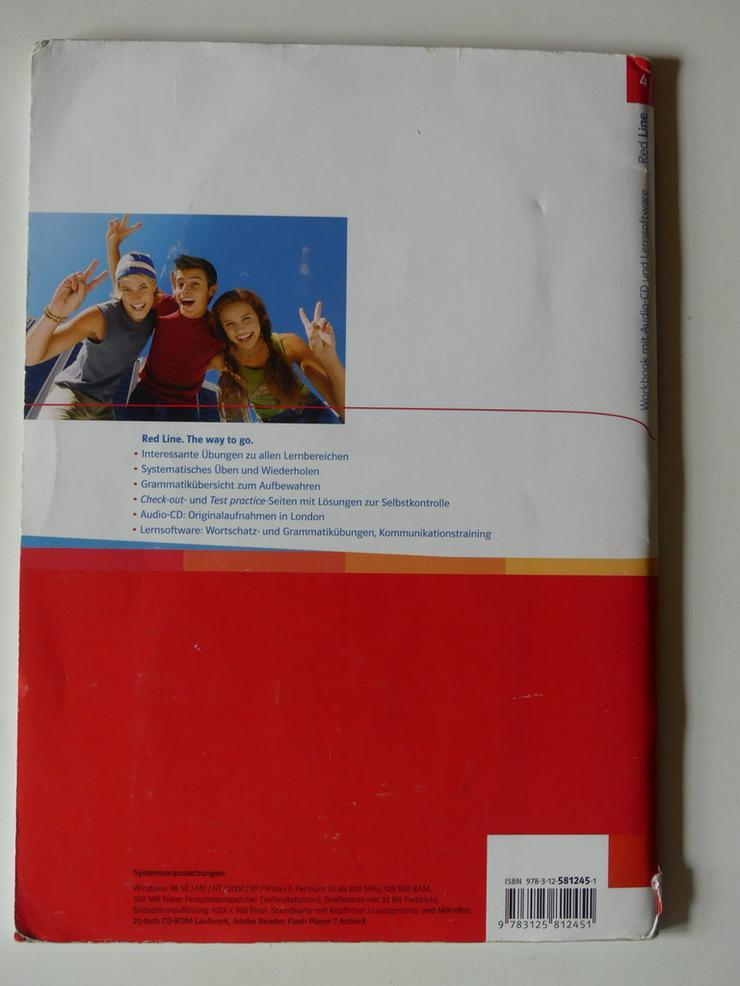Bild 4: Red Line 4 Workbook, Audio-CD +Lernsoftware