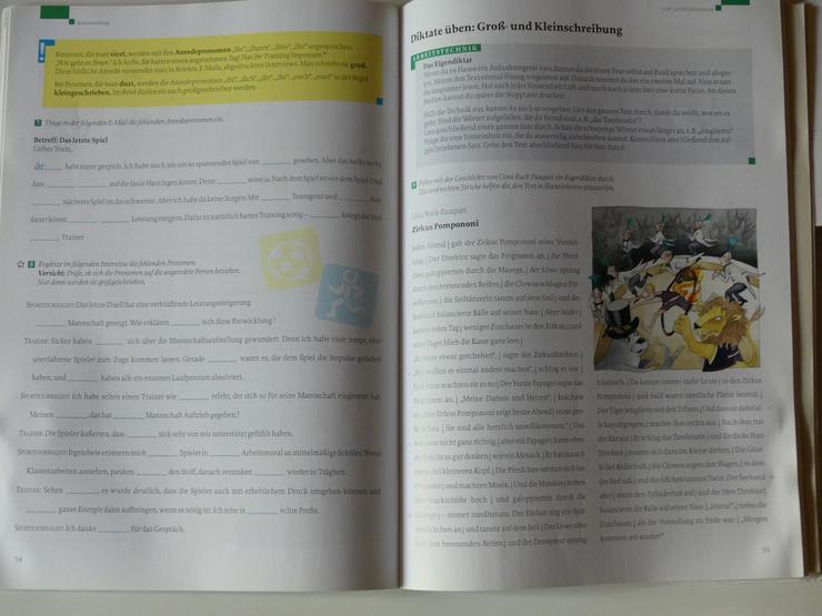 Bild 3: Deutschbuch Arbeitsheft 5