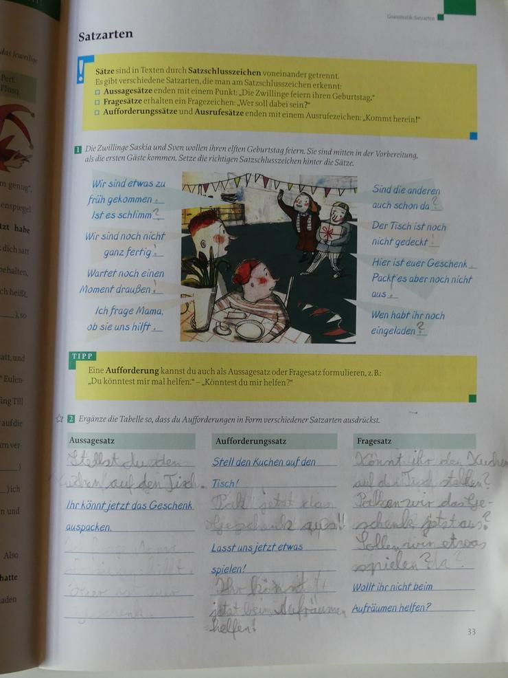 Bild 2: Deutschbuch Arbeitsheft 5
