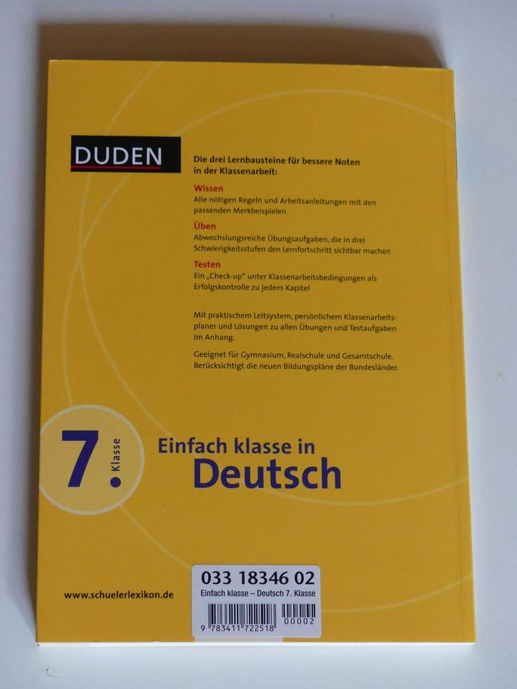 Bild 2: Einfach klasse in Deutsch, 7. Klasse
