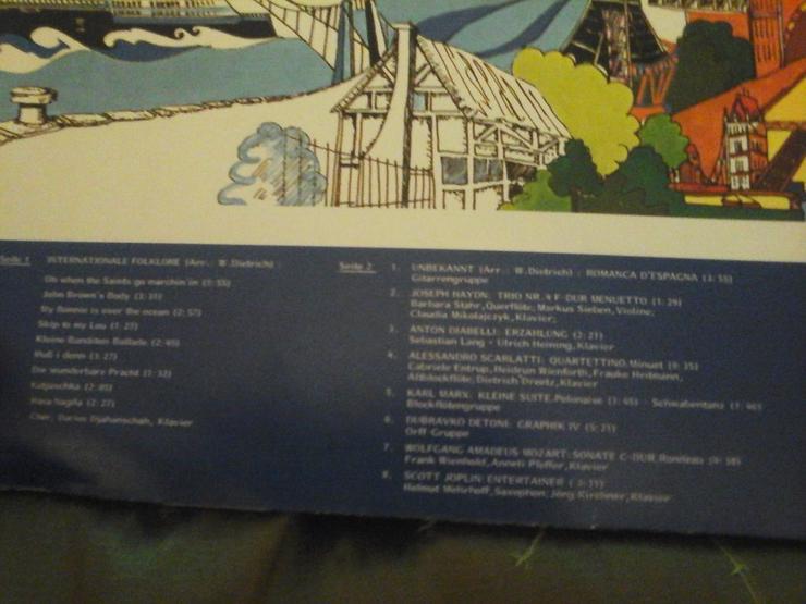 Bild 4: 4 LPs Buenos Dias Argentina, und 3 weitere