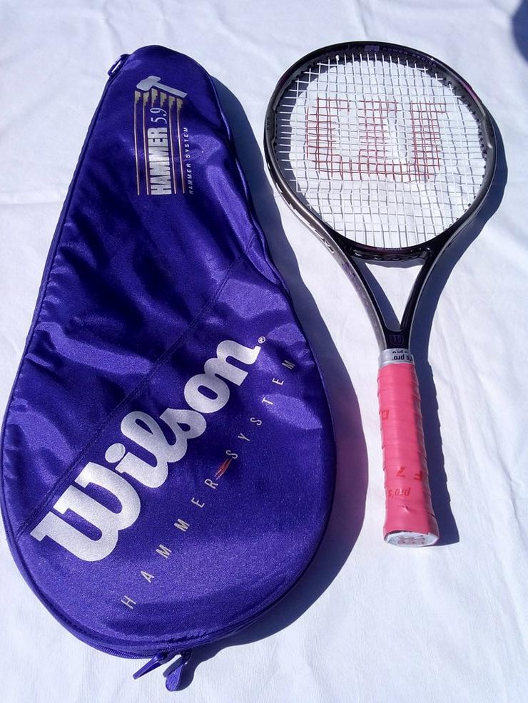 Tennisschläger WILSON NEMESIS Graphite