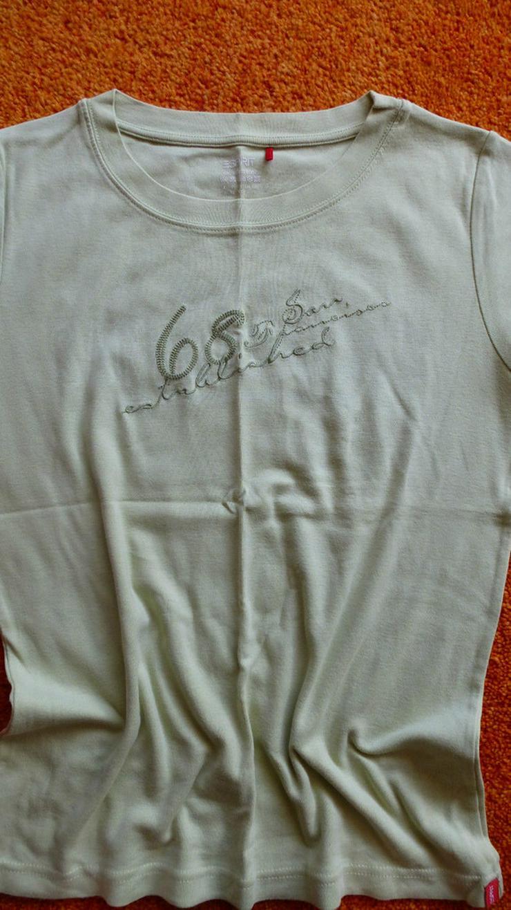 Sommer T-Shirt Größe L in grün von Esprit