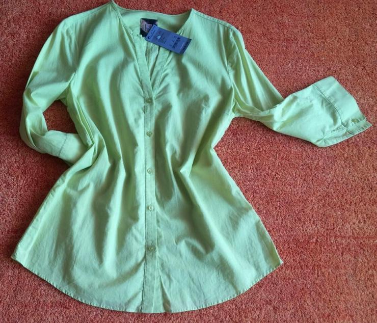 NEU Damen Bluse Gr. 38 in frisch Grün