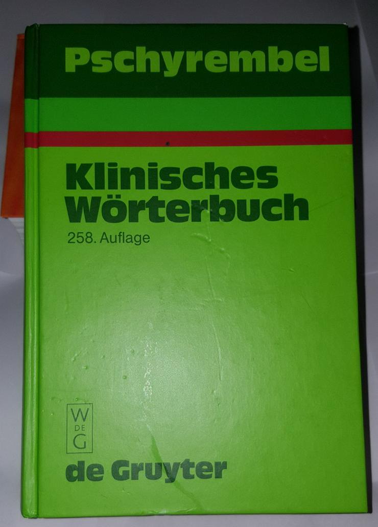 Pschyrembel Klinisches Wörterbuch 258 Auflge