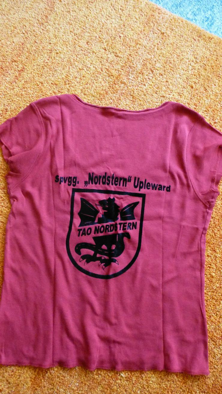 Bild 3: Damen Shirt T-Shirt Top Bluse Rot Gr. S