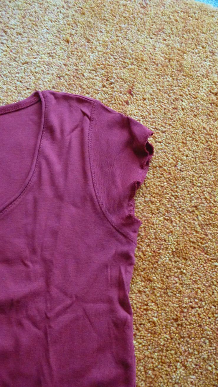 Bild 5: Damen Shirt T-Shirt Top Bluse Rot Gr. S
