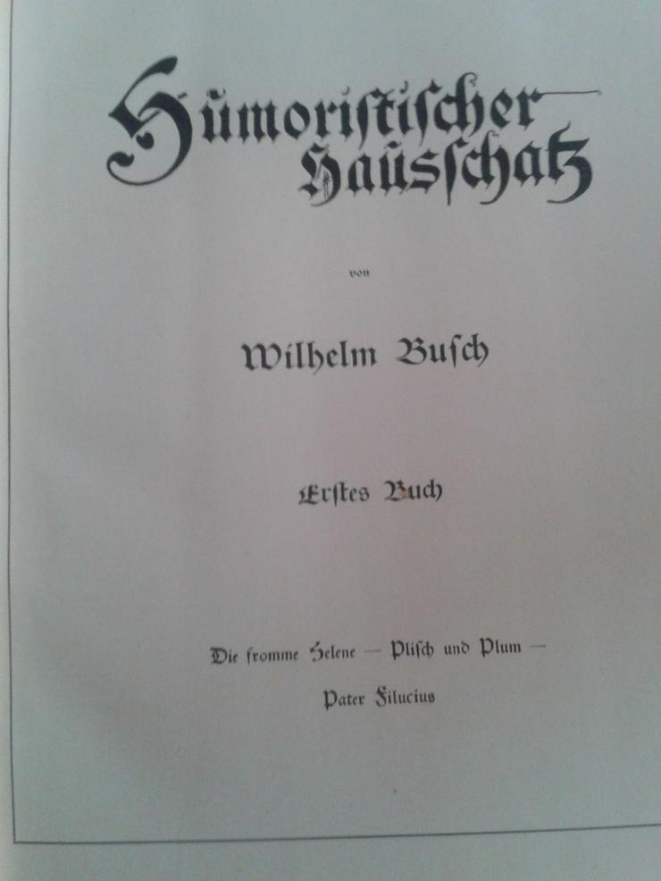 Bild 6: Wilhelm Busch Max und Moritz